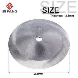 300 мм 12 дюймов HSS циркулярная пила алмазные пильные диски для электроинструмента резка холщовых рулонов/алюминиевых/медных труб