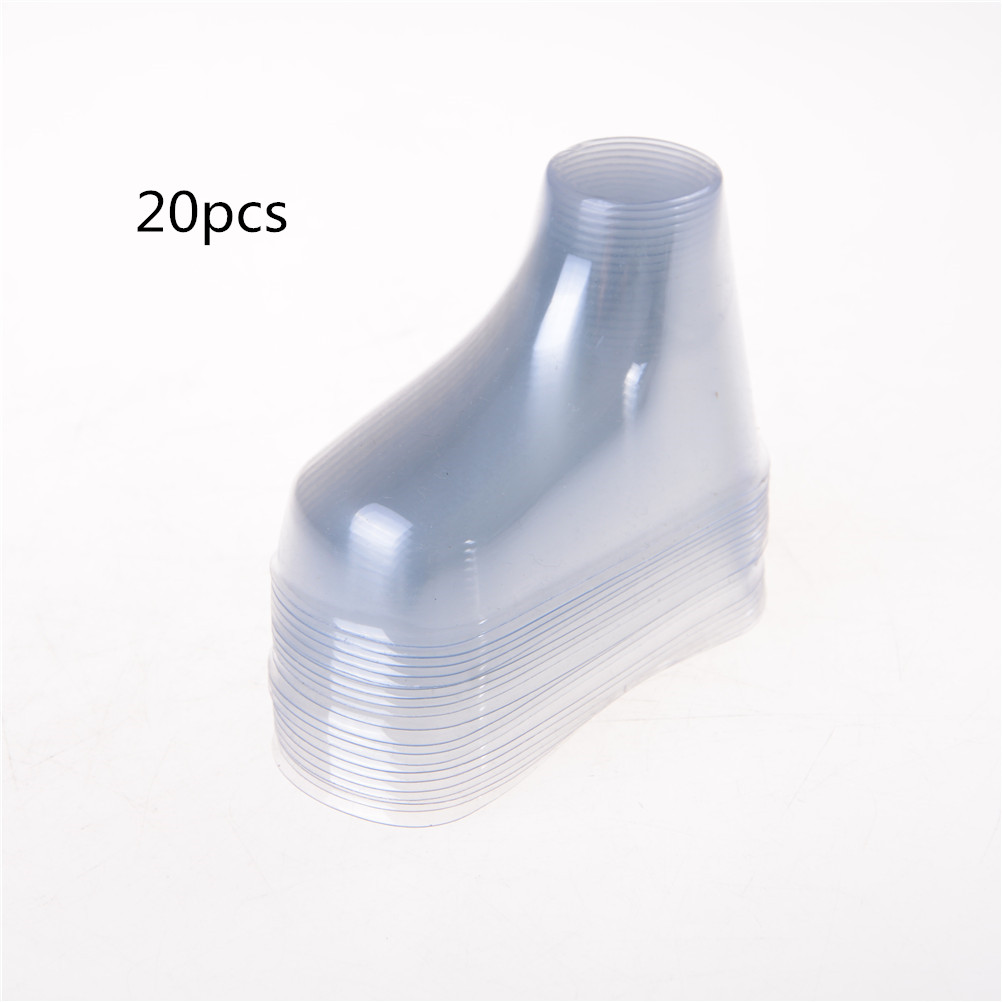 20pcs/lot Plastic Foot Model Sock Molds Paste Baby Fondant Booties Mould Extrusion Display Gift Shoe Packaging  About 9cm