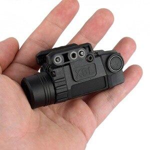 Image 5 - 2in1 전술 X5L LED 손전등 콤보 녹색 레이저 시력 범용 권총 총 미라 레이저 Pistola Airsoft Glock 17 19 시리즈