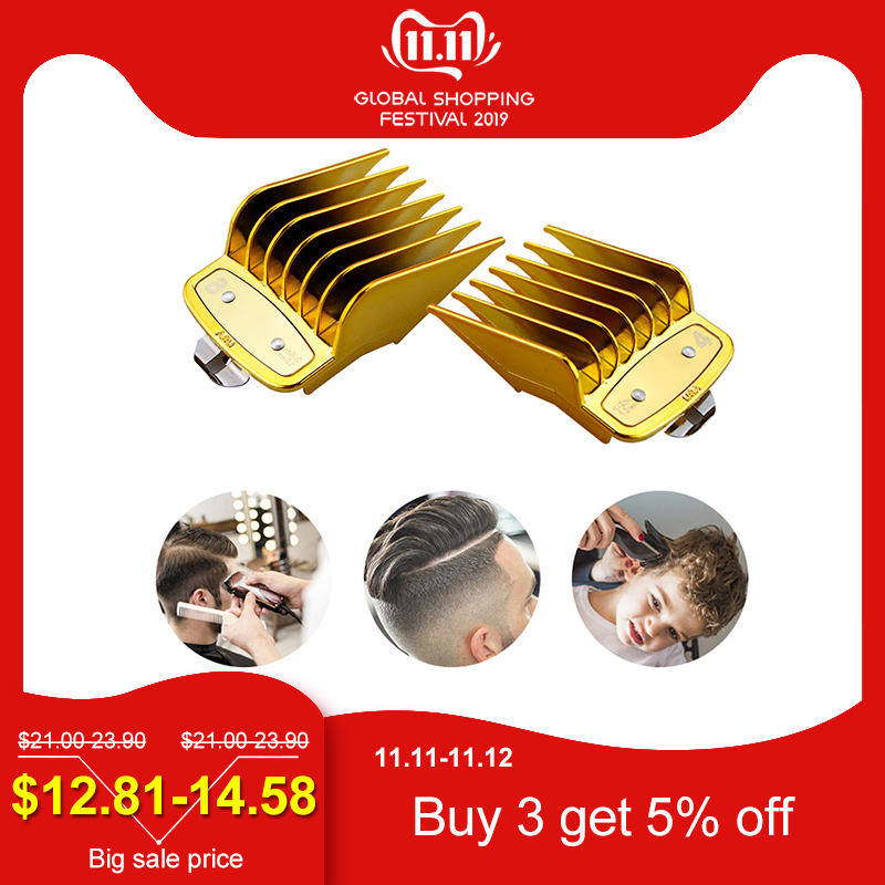 8 Sizes Guide Comb Sets Hair Trimmer Attachment Clipper Hair Cutting Tool Kit Hairdresser Tool Hair Comb Hair Clipper Limit Comb
