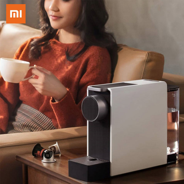Xiaomi Capsule Coffee Machine Ground Espresso Coffee Maker Hot and Cold Extraction Coffee Powder Making Home Office Helper
