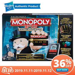 Hasbro De elektronische Monopoly spel Volwassen Familie Gaming Samen Populaire Fans E-Banking Upgrade Chinese Versie