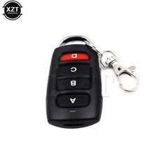 Controle remoto universal de garagem de 433mhz, 4 botões de carro, abridor de portão, duplicador, clonagem de cópia, chave elétrica corrente com corrente,