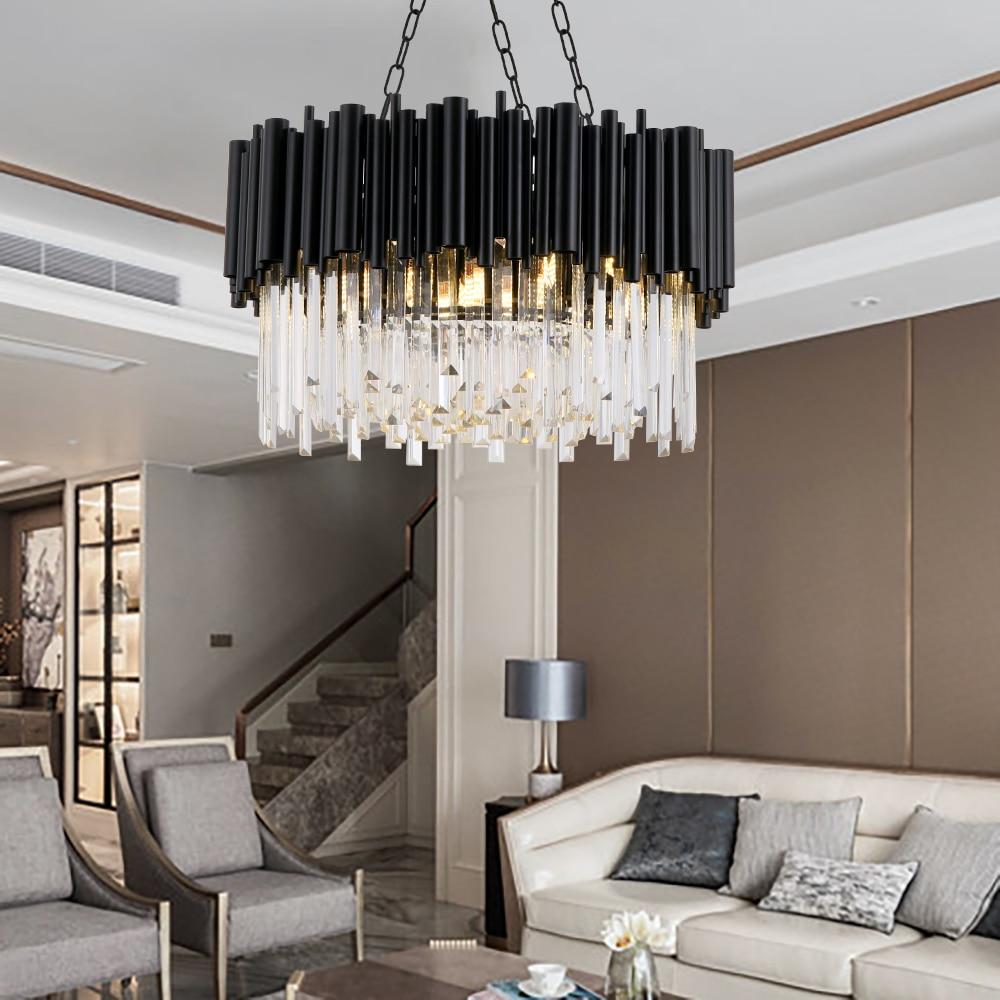 Luxury Annular Crystal Chandelier