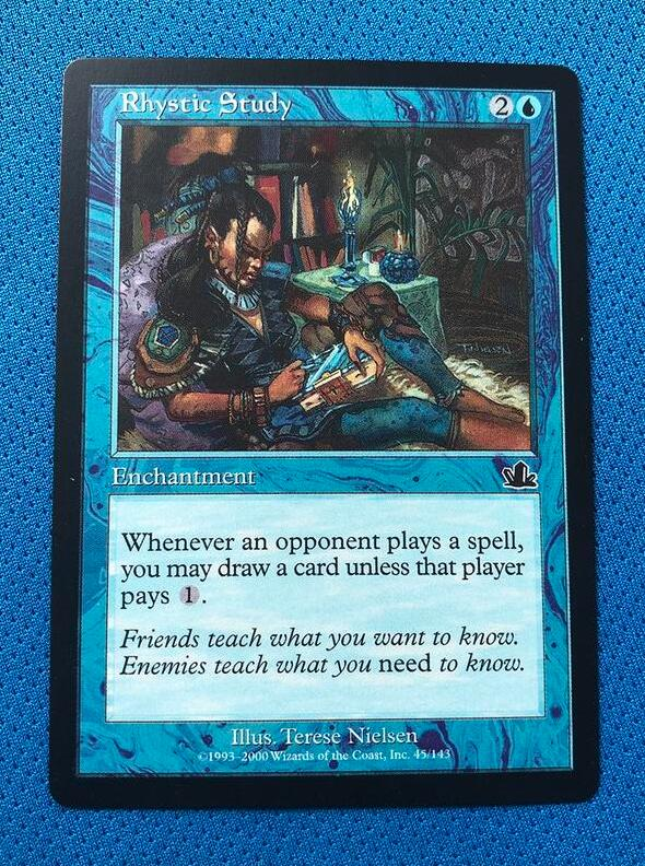 Rhystic StudyPCY Magician ProxyKing 8.0 VIP The Proxy Cards To Gathering Every Single Mg Card.