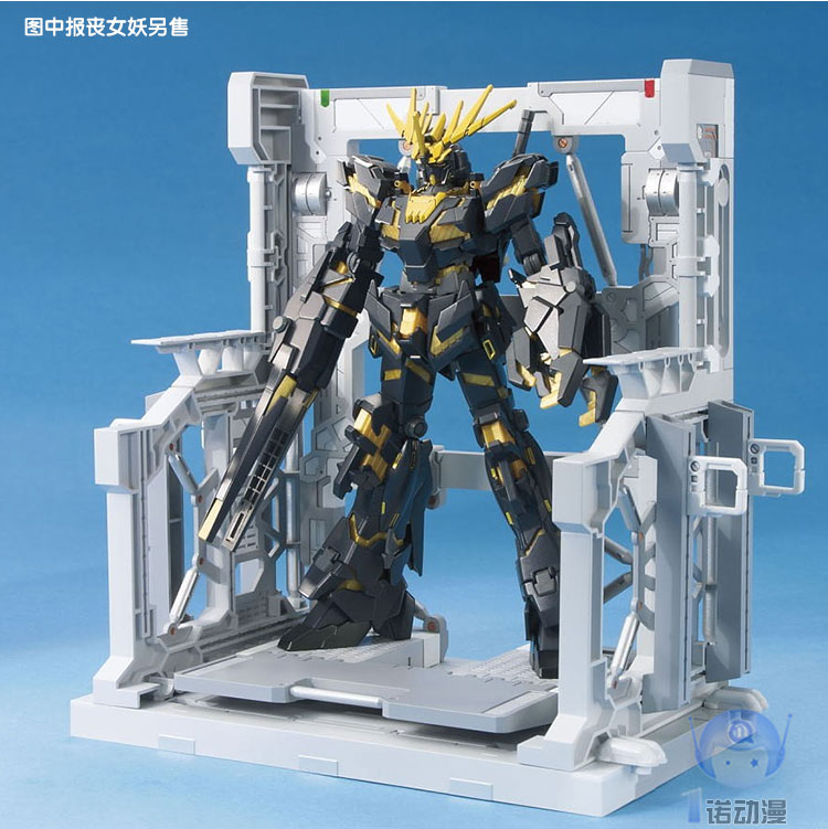 NEW Hanger Mechanical Action Figure SYSTEM Base Suitable Display Stand Bracket For 1/144 HG/RG  Unicorn Gundam