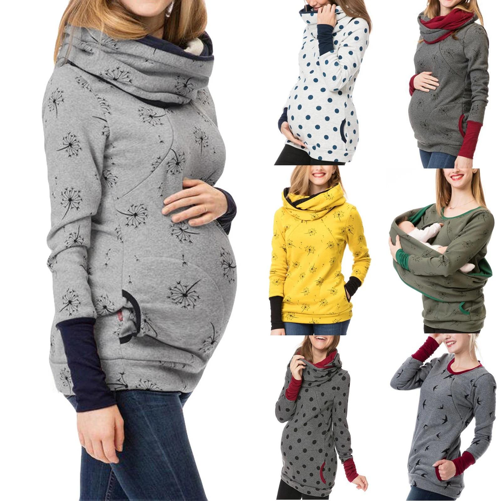 New Maternity Nursing Hoodie Sweatshirt Winter Autumn Pregnancy Clothes Pregnant Women Breastfeeding Sweater Shirts T Shirt Top Hoodies Aliexpress
