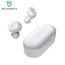 цена на SoundPEATS True Wireless Earbuds 5.0 Bluetooth Earphones in-Ear Stereo Wireless Headset with Microphone Binaural Calls