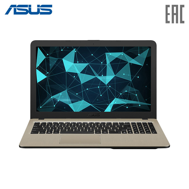 "Ноутбук Asus X540NA 15.6"" HD/Intel Celeron N3450/2Gb/500Gb/noODD/Endless OS/Черный (X540NA-GQ149)"