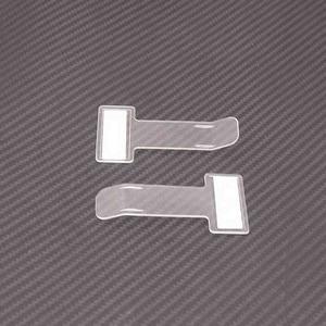 Image 2 - 5pcs Set Car Parking Ticket Holder Clip Sticker Automotive Internal Organizer  Car Styling For Car Windshield Fastener Sticker 4