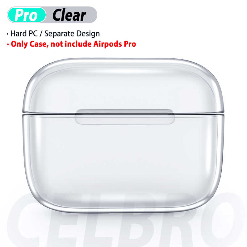 Clear Case Cover For Airpods Pro 3 Transparent Crystal Protective Protector For Air Pods Pro 3 Wireless Charging Box Funda Coque Aliexpress