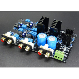 Image 3 - Can Adjust/Customized 2 range 2 way Speaker Active Frequency Divider Crossover Linkwitz Riley Circuit DSP board