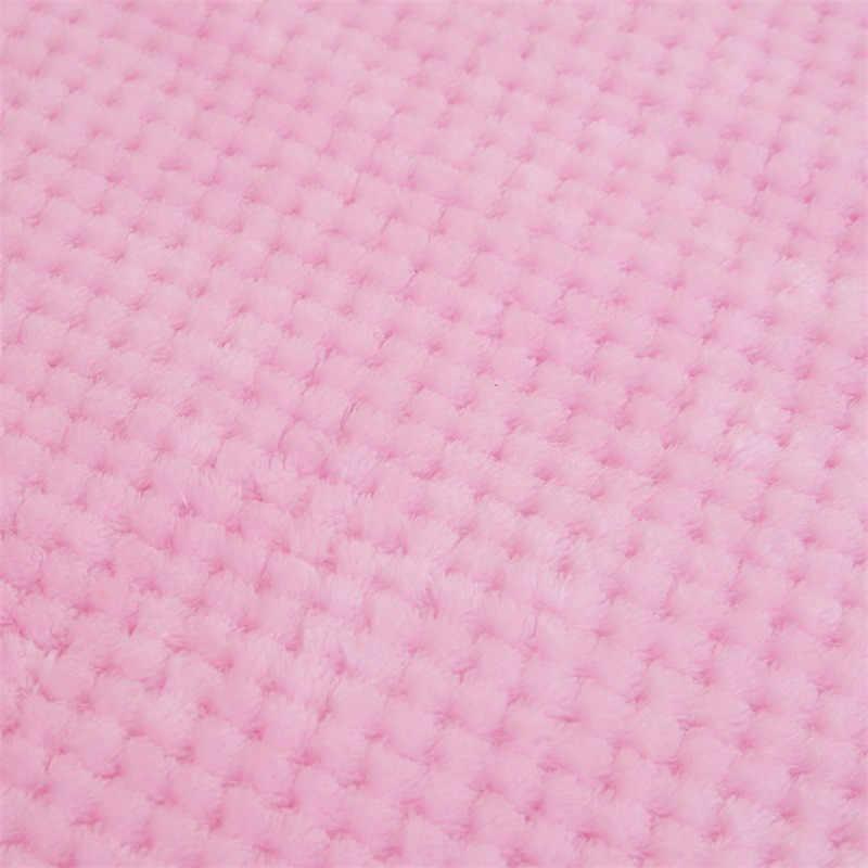 Lenço quente macio xadrez velo cobertor de cama grande malha flanela cobertores grosso tapete respirável quente tortilla casa têxtil 2019 novo