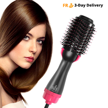 Hair Dryer Brush Multifunction Electric Hair Straightener Massage Comb Negative Ion Rotating Hair Brush Styler Salon Roller Comb