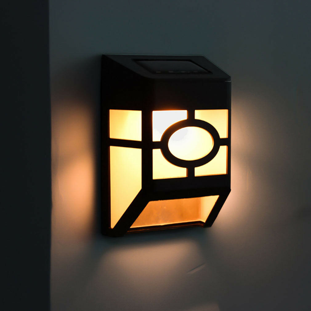 Walkway Lights Street Lamp Eco-Friendly Durable Fence Light LED Outdoor Garden Landscape Wall Light Home Security Solar