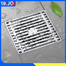 Bathroom Floor Drain Cover Brass Shower Floor Drains Tile Insert Kitchen Balcony Drainer Cover Anti-odor Floor Waste Grates цена 2017