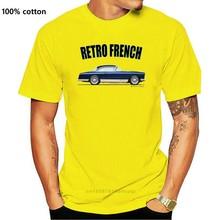 FACEL VEGA HK500 t-shirt. RETRO FRENCH. CLASSIC CAR. MODIFIED