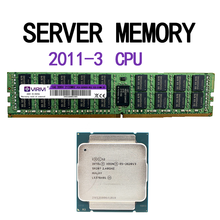 E5-2603v3 2620v3 2623v3 2630v3 2640v3 2660v3 2650v3 RAM DDR4 16 GO 2133Mhz REG ECC mémoire serveur 2011-3 broches CPU x99 carte mère