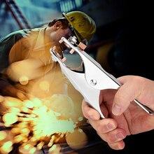 300Amp высокое качество заземляющий Кабель зажим сварочный ручной сварочный аппарат для профессионального использования 175 мм длина Mayitr