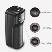 Black Anti-Shake Wireless Selfie Booster Handle Grip with Bluetooth Remote Control Photograph Supplies