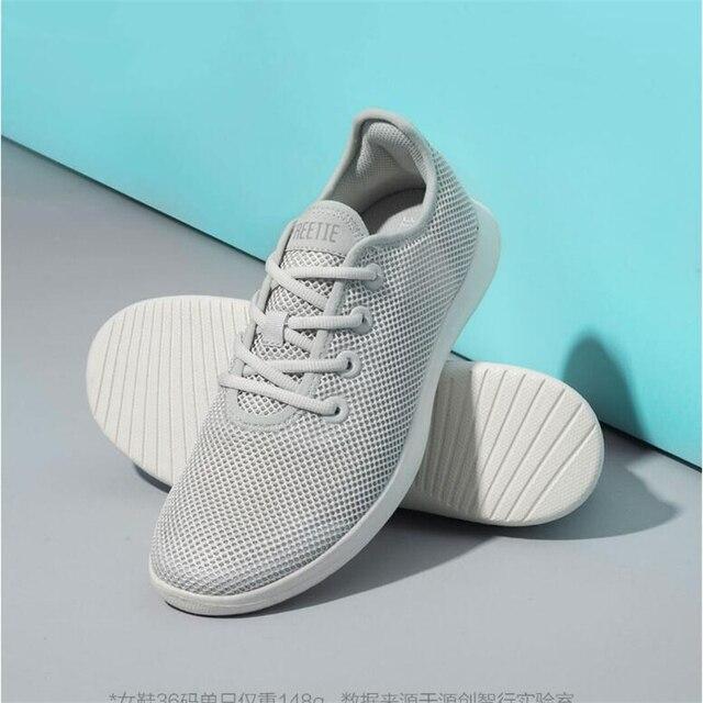 Xiaomi FREETIE günlük ayakkabı erkek/kadın hafif havalandırmalı ayakkabı nefes ferahlatıcı şehir koşu spor açık spor için