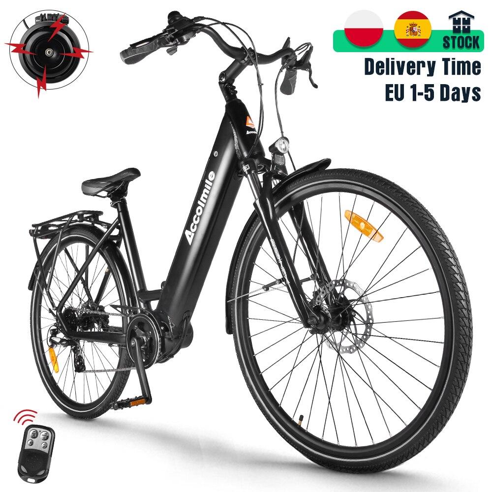 Городской электрический велосипед с датчиком крутящего момента Bafang M200, 28 дюймов, 250 Вт