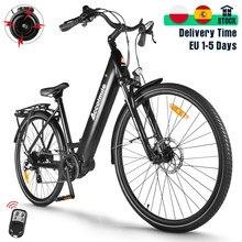 Yeni tork elektrikli bisiklet 700C elektrikli şehir bisikleti 28 inç yol E-bisiklet 140KM 250W Bafang M200 orta sürücü motor erkek kadın Ebike
