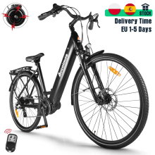 28 Inch Electric Bike 700C City Electric Bicycle Urban bicicleta 250W Bafang M200 Torque Sensor Mid Motor Mens Women's Ebike