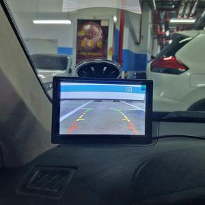 """Image 3 - DIYKIT 800x480 5 """"TFT LCD 디스플레이 HD 자동차 모니터 MPV SUV 말 트럭에 대 한 흡입 컵 및 무료 브래킷과 후면보기 모니터"""