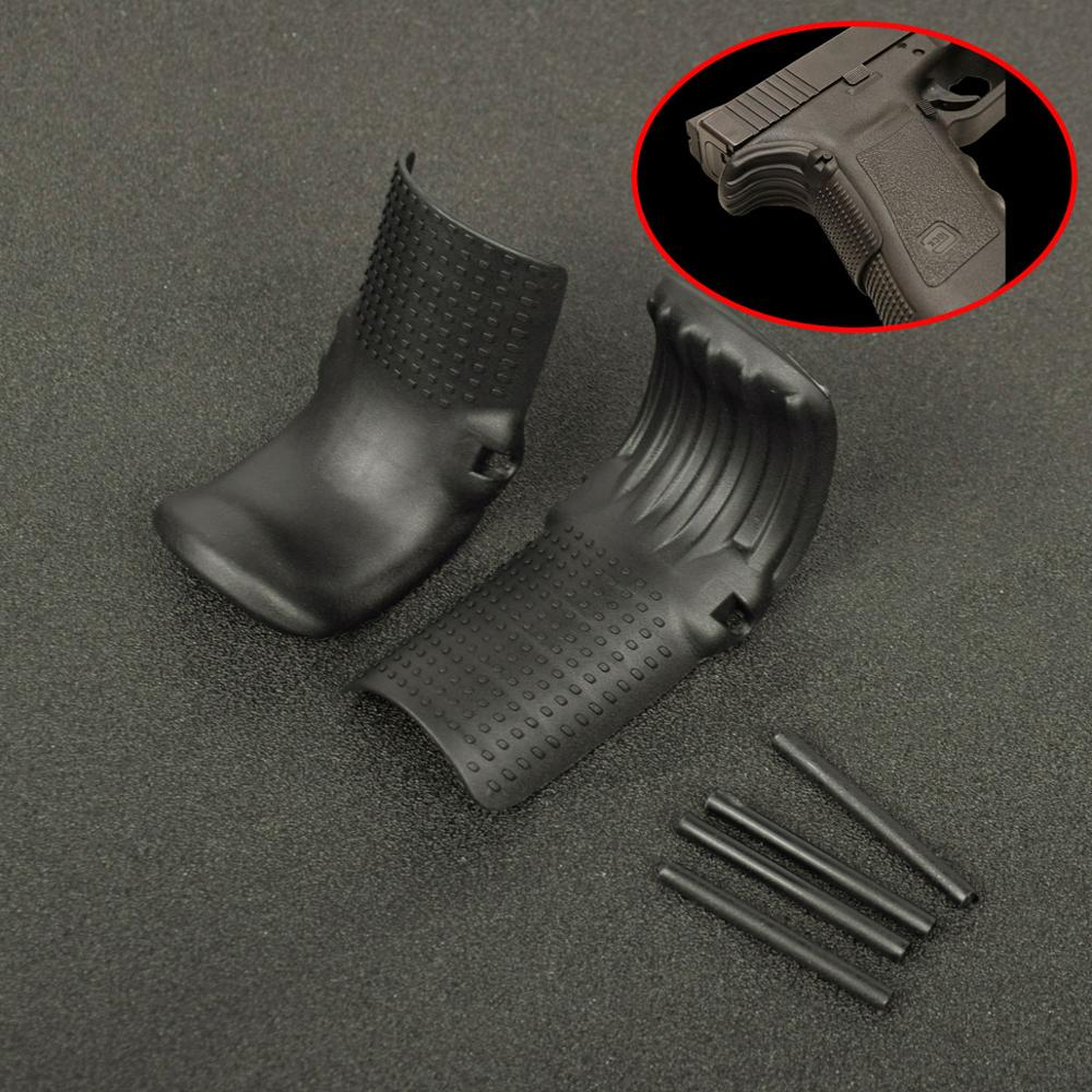 2PCS Universal Handgun Grip Force Adapter BeaverTail Gen 1 2 3 Polymer For Glock 17 19 22 23 24 31 32 34 35 37 38