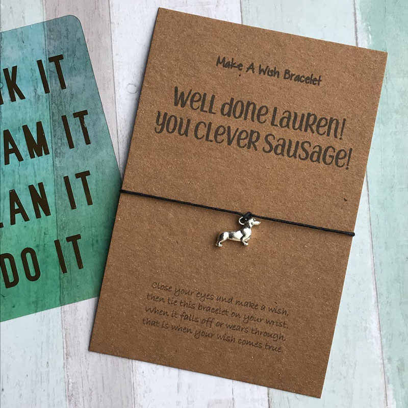 Inspirational Gift Gift For Her You Are pawsome Wish Bracelet