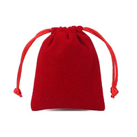 10pcs/1lot Velvet Bags Drawstring bags & Pouches Dust proof Phone Jewelry Candy Necklace Earring Delicate Package 8x10cm 10x12cm