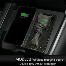 Fast Wireless Charger for Tesla Model 3 Center Console Dual