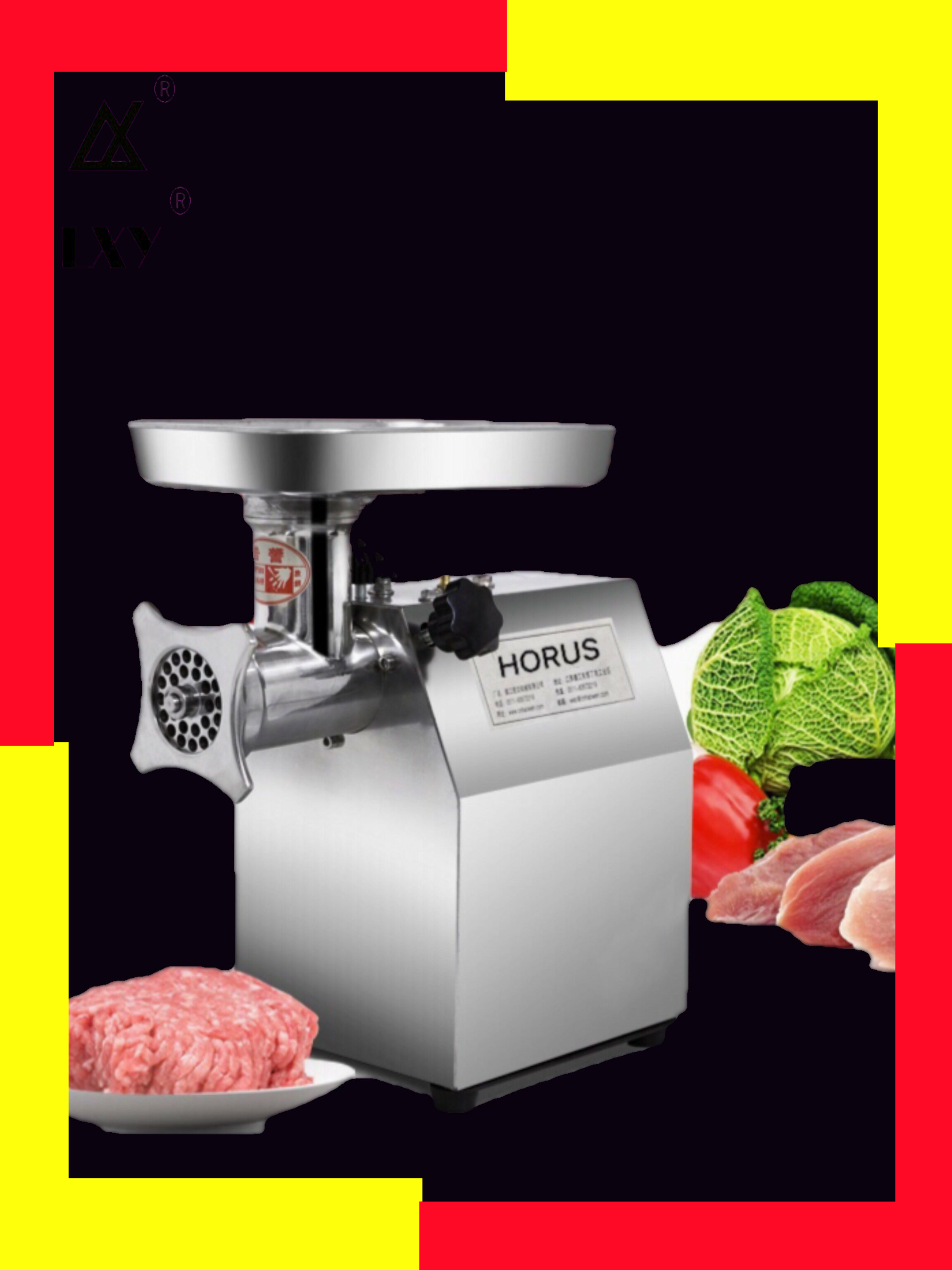 Powerful Electric Meat Grinders Meat Mincer Stainless Steel Body Heavy Duty Commercial Mince Sonifer