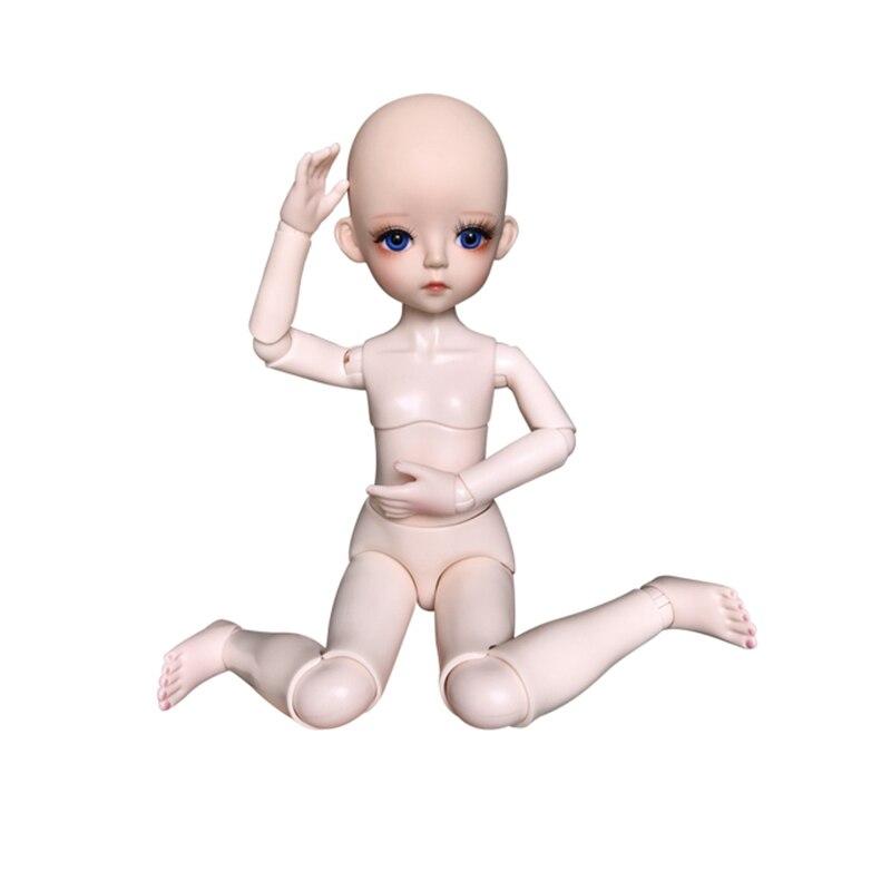 Новинка 30 см/60 см 18 подвижных суставов BJD, куклы, игрушки, сделай сам, макияж, голый, голая 1/3 BJD, кукла, игрушка для девочек, подарок