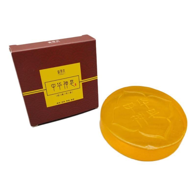 Handmade Soap Control Oil Soap Exfoliating Whitening Natural Bath Soap Pimple Pores Acne Treatment Blackhead Remover Body Care