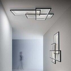 UMEILUCE nowoczesne oświetlenie sufitowe LED do montażu podtynkowego inteligentne oświetlenie do salonu sypialnia Foyer schody dekoracja ściany lampy