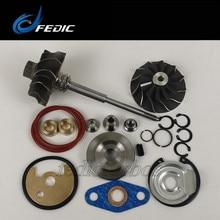 Eixo turbo e roda + kit de reparação tf035 49135-05671 conjunto de rotor e kit de reparação para bmw 320d e90 e91 120 kw m47tu2d20 2004-2006