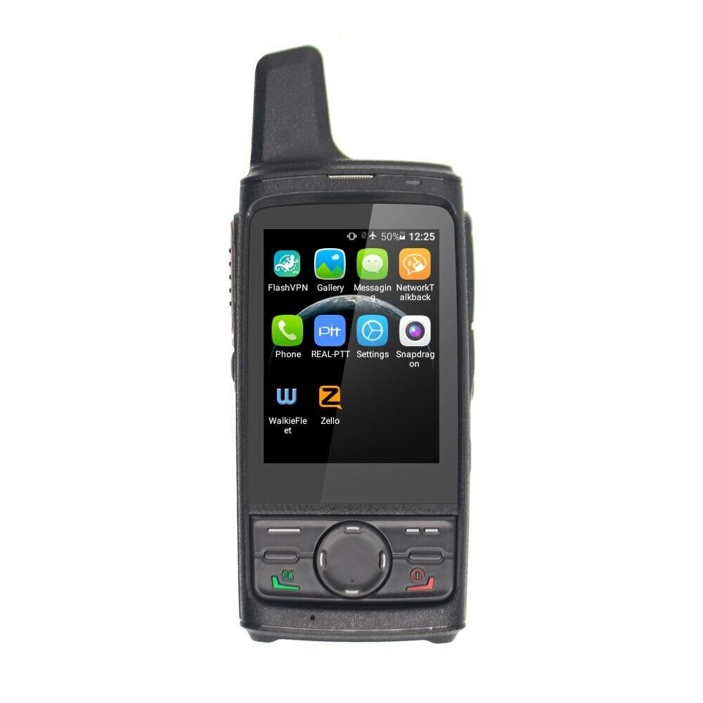 ANYSECU T8 4G LTE POC Radio Android 6.1 GPS 4000mAh double carte Zello PTT talkie walkie Smartphone   AliExpress