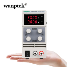 цена на Wanptek 4 Digits Display DC Switching Power Supply 60V 30V 15V 3A 10A 5A Regulated Laboratory Power Supply Adjustable With Cable
