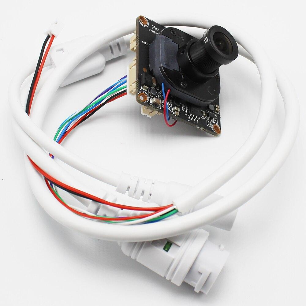 H.265 2.0MP 4MP Security CCTV POE IP Camera Module Board Two-way Audio IR 1080P P2P Onvif Video Surveillance AI Camera