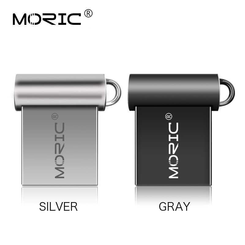 Impermeabile Micro Metallo Flash Drive 128GB 64GB 32GB 16GB 8GB 4GB di memoria USB stick ad alta Velocità pendrive u disk memoria cle usb