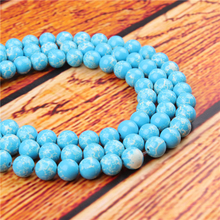 Emperor Landi Natural Stone Bead Round Loose Spaced Beads 15 Inch Strand 4/6/8/10/12mm For Jewelry Making DIY Bracelet