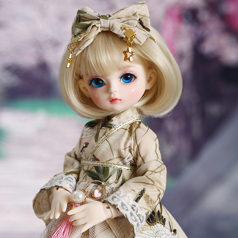 Shuga Fairy Mien 1/6 BJD SD Doll Yosd Model Baby Girls Boys Eyes High Quality Toys  Resin Figures For Christmas