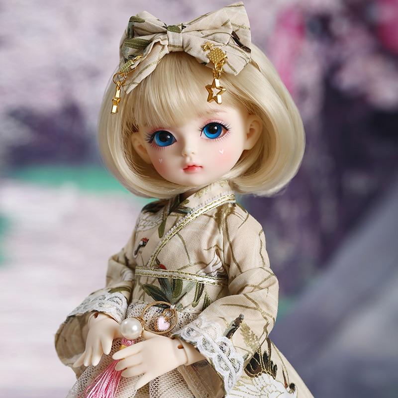 Shuga Fairy Mien 1/6 BJD SD Doll Yosd Model Baby Girls Boys Eyes High Quality Toys  Resin Figures For Christmas