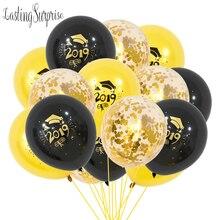 סיום בלוני 2019 2020 קונפטי Ballons מודפס ברכה מתנת סיום תיכון מסיבת קישוטי בלוני סט