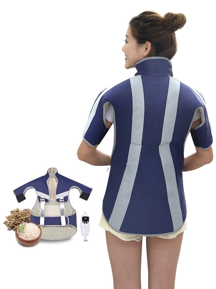 Наплечный коврик, теплый, для шеи и плеча, горячий компресс, для шеи, защита, солевые сумки, грубая соль, морская соль, мешок для прижигания, по...