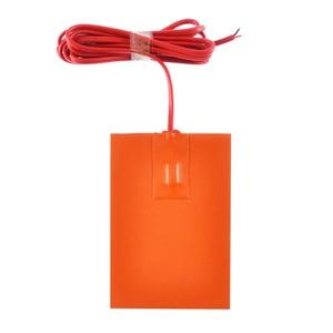 Image 3 - 1pc 250W 9x13cm cuscinetto riscaldatore serbatoio coppa olio motore 220V blocco riscaldatore Silicone piastra riscaldante serbatoio idraulico