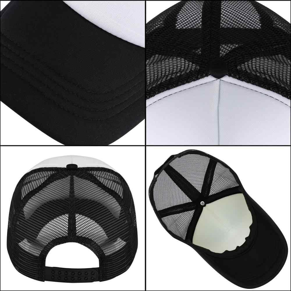 나는 슬프지 않다 나는 비문으로 야구 모자를 인쇄한다 남자의 가을 모자 사냥과 낚시를위한 국자 메쉬 모자 보편적 인