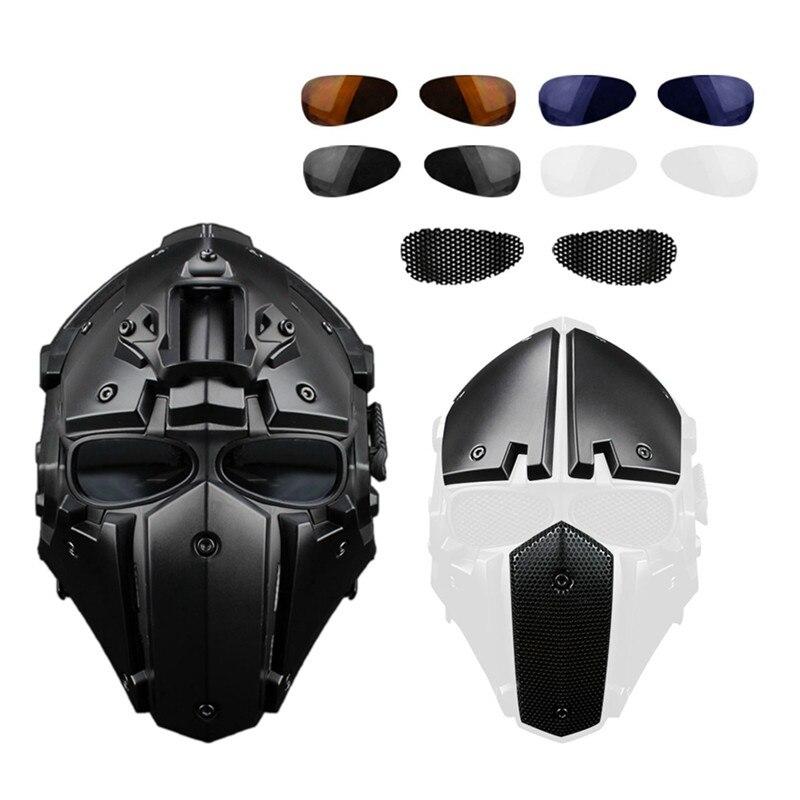 Страйкбольные Пейнтбольные тактические шлемы защитная маска для лица охотничьи военные шлемы тактические шлемы для стрельбы аксессуары д...